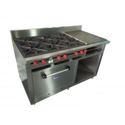 Cocina 6 hornillas...