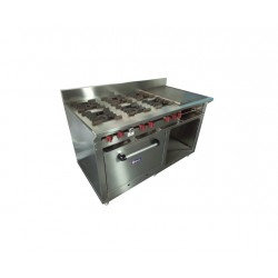 Cocina 6 hornillas, plancha...